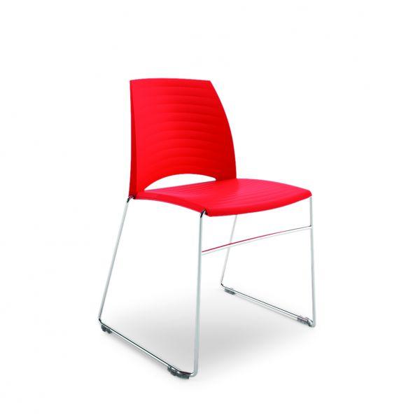 Kunststoffschalenstuhl Go 420 Kufenstuhl
