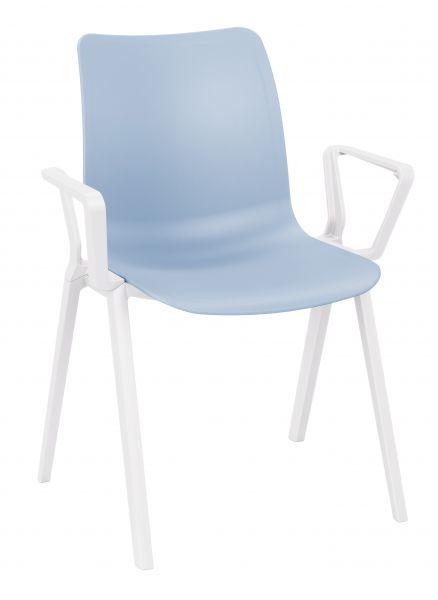 Kunststoffschalenstuhl LUX auch Outdoor geeignet