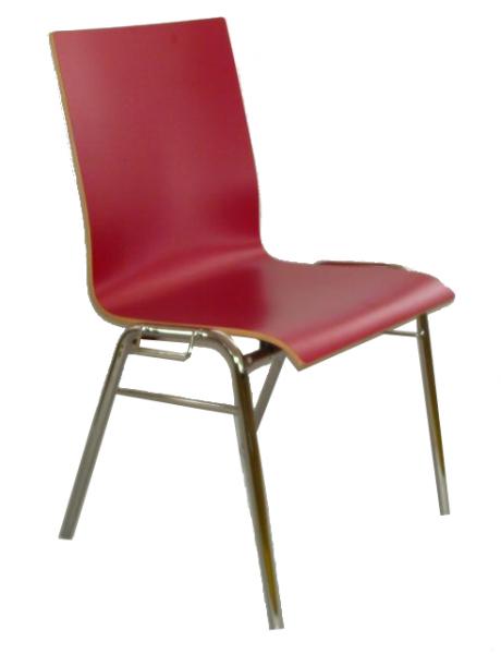 HPL-Holzschalenstuhl 100 Stück