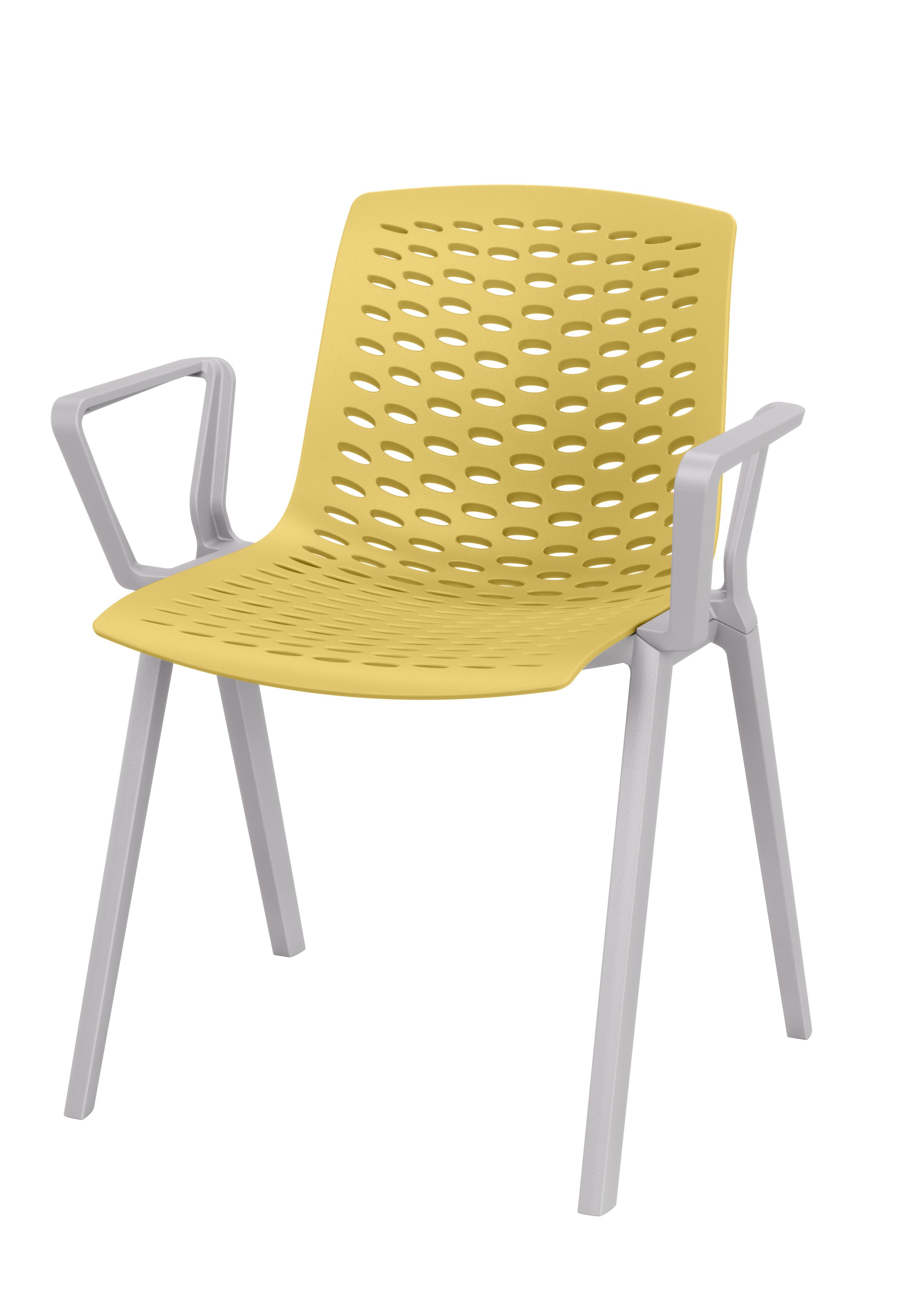 Kunststoffschalenstuhl lux outdoor geeignet in for Schalenstuhl outdoor