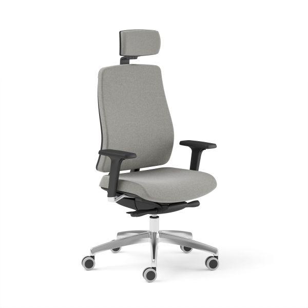 Bürodrehstuhl ABSOLUTE 110 Drehstuhl mit Kopfstütze