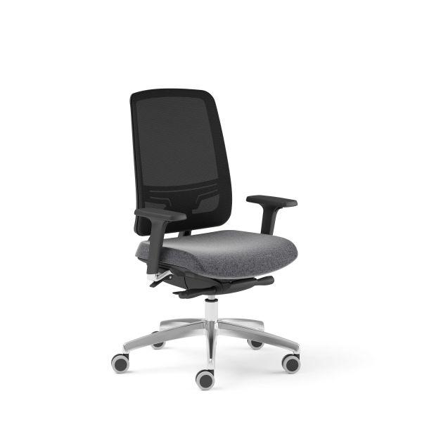 Bürodrehstuhl ABSOLUTE 105 Drehstuhl mit Netzrücken