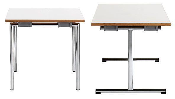 Klapptisch 3060 - 3560 mit 25 mm Tischplatte HPL