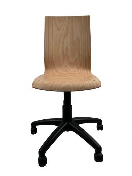 Holzdrehstuhl Holzschelndrehstuhl Zachert Drehstuhl mit Holzschale
