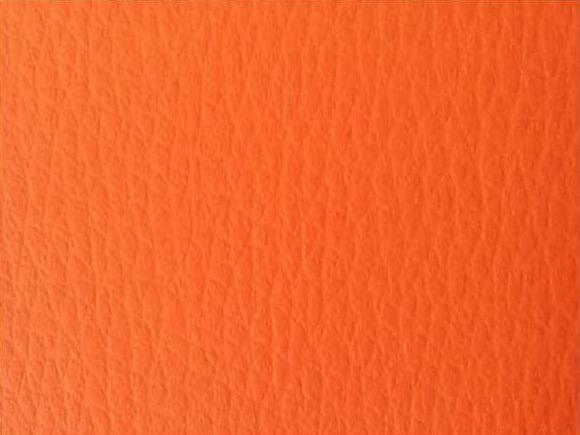 Kunstleder-orange