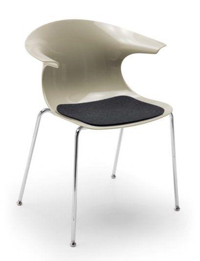 Design Kunststoffschalenstuhl SUN