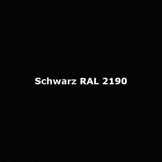 Schwarz-RAL-2190-2
