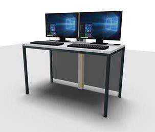 PC Arbeitstisch 61 Doppelarbeitsplatz